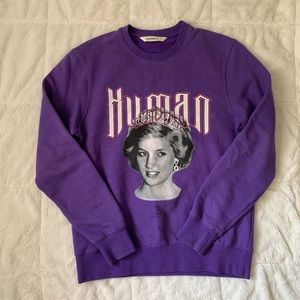 Rare Princess Diana Elevenparis sample crewneck